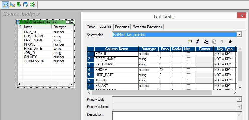 Informatica – Working with Delimited Flat Files - Explore