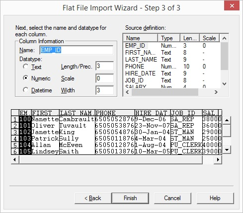 Working with Delimited Flat Files-wizard3