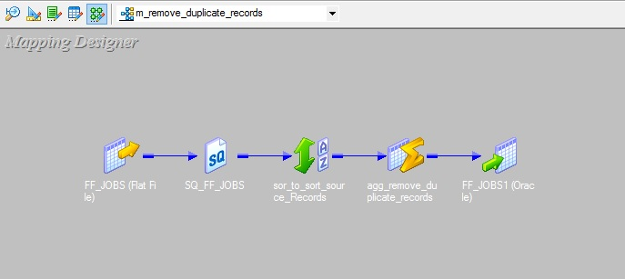 How to remove duplicate records using Aggregator